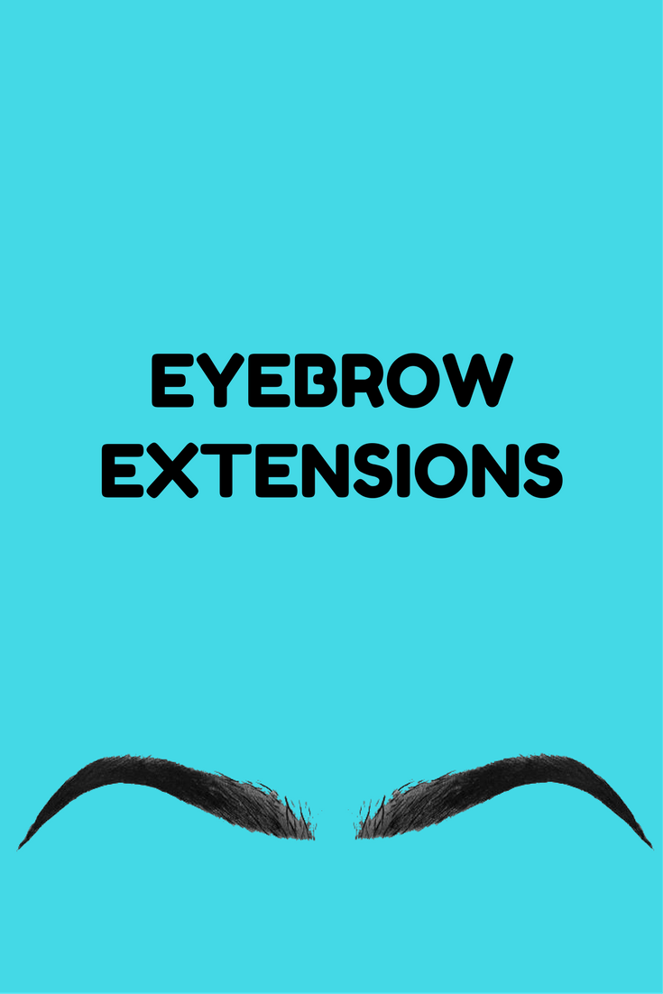 eyebrow extentions
