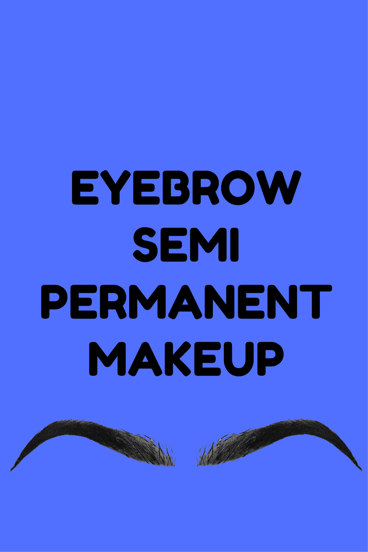 eyebrow semi permanent