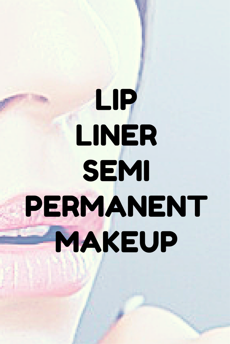 lip liner semi permanent makeup